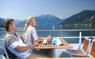 Schifffahrt am Zeller See
